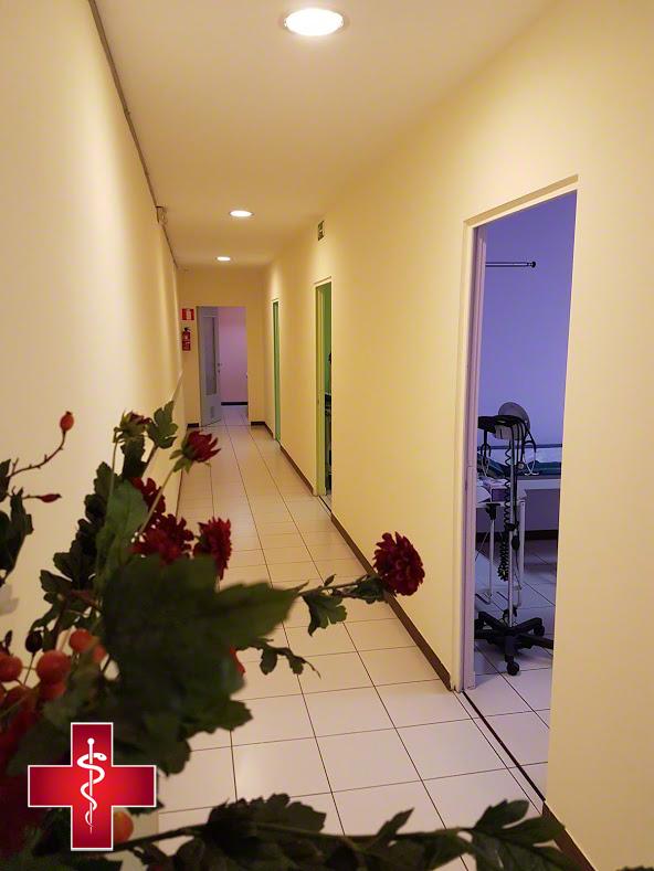 Centre Medicale des Palais - Maison Medicale 1030 Schaerbeek vu couloir