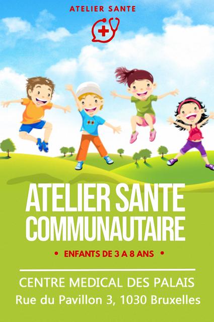 Atelier Sante communautaire - Maison Médicale enfants Schaerbeek