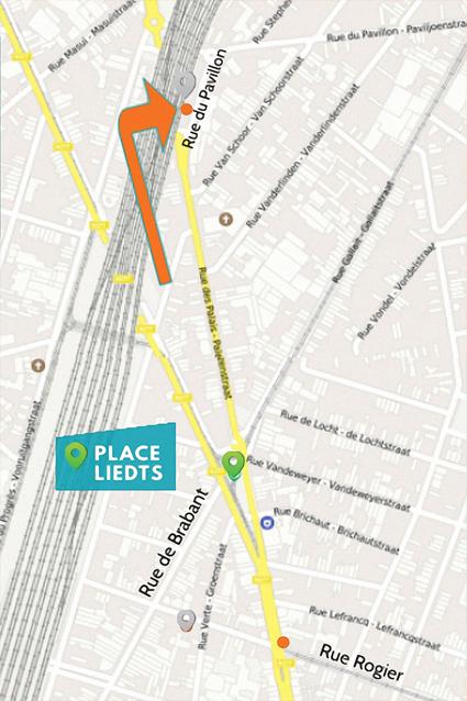 Nouvelle Adresse Plan Google - Centre Médical des Palais - Rue du Pavillon 3 - 1030 Schaerbeek