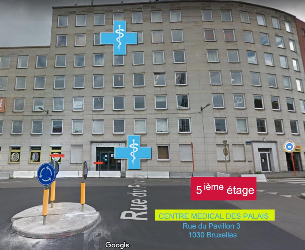 Nouvelle adresse Rue du Pavillon 3